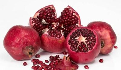 الفعالية العلاجية لنبات الرمان