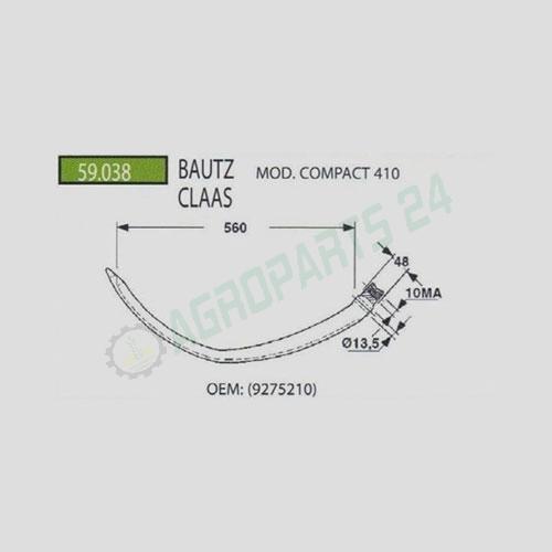 Bautz Compact 410, Claas - 9275210