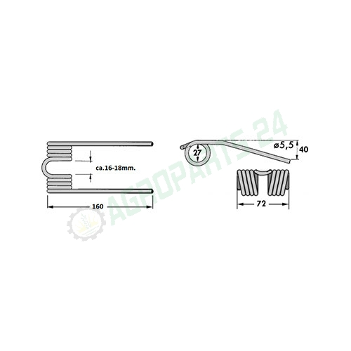 Krone KR - 938040 2
