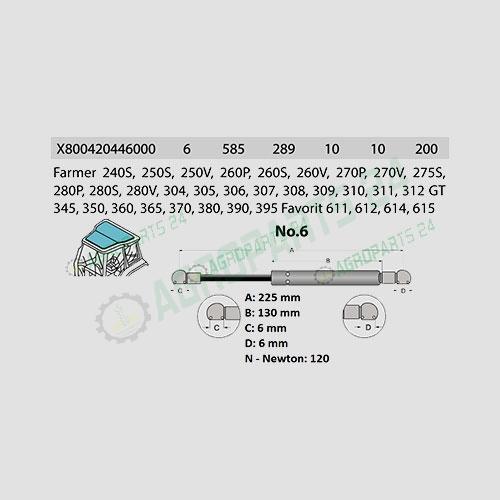 Fendt - X800420446000 2