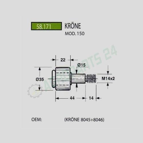 Krone - 8045 + 8046 4