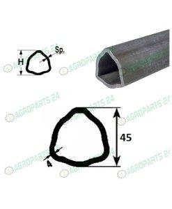 Profilrohr Gelenkwelle Walterscheid 45,0 x 4,0mm