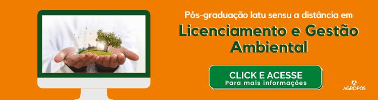 Pós-graduação em Licenciamento e gestão ambiental