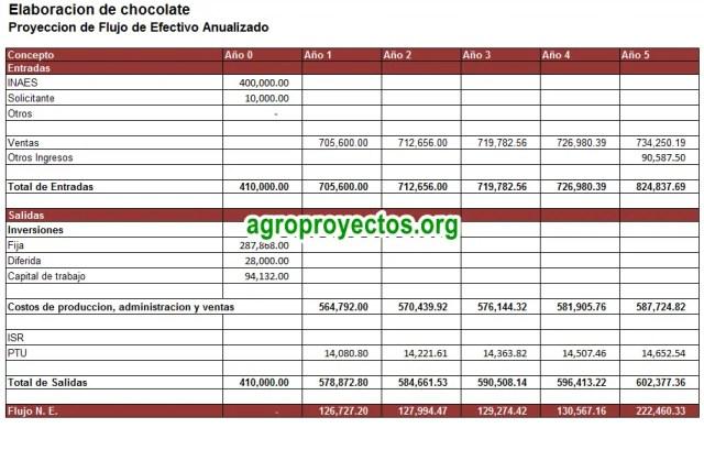 Flujo de Efectivo Anualizado en Excel