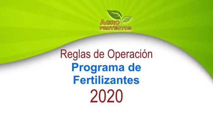 programa de fertilizantes