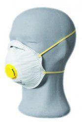 Mascarilla respiratorias con válvula FFP1