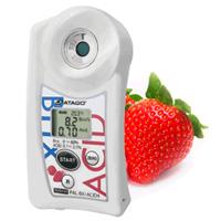 Medidor de bolsillo Acidez + Brix (Fresas) PAL-BX ACID4