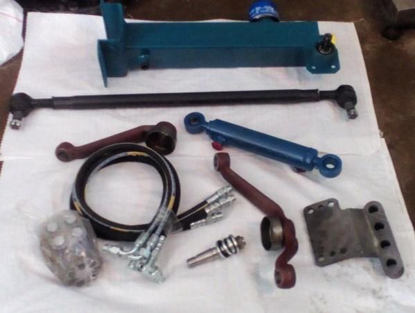 Комплект замены МТЗ-80 с ГУР на насос-дозатор Д 100