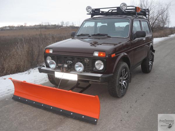 Снегоуборочный отвал для а/м ВАЗ 2121-31 (Нива)