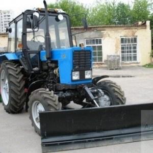 Отвал Снежный механический ОС-2,4 для трактора МТЗ