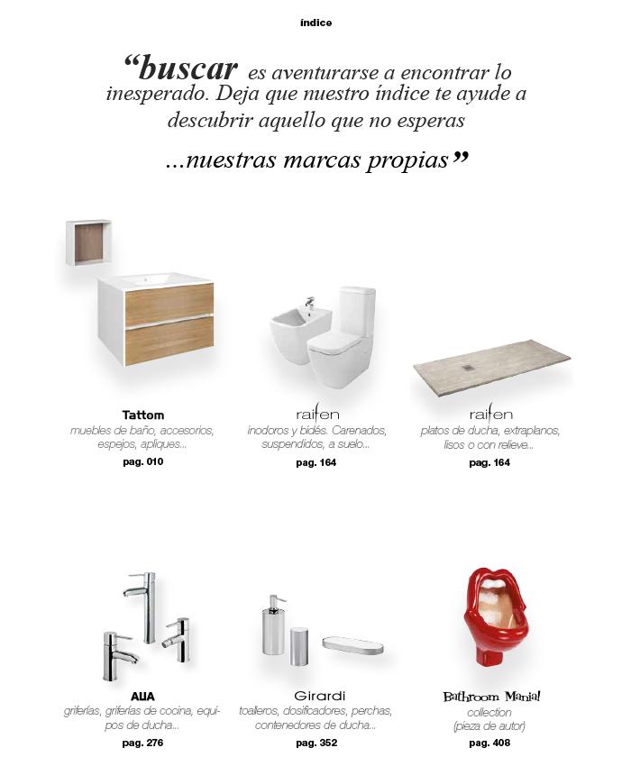 Catálogo de marcas propias