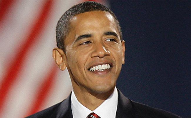 Obama w