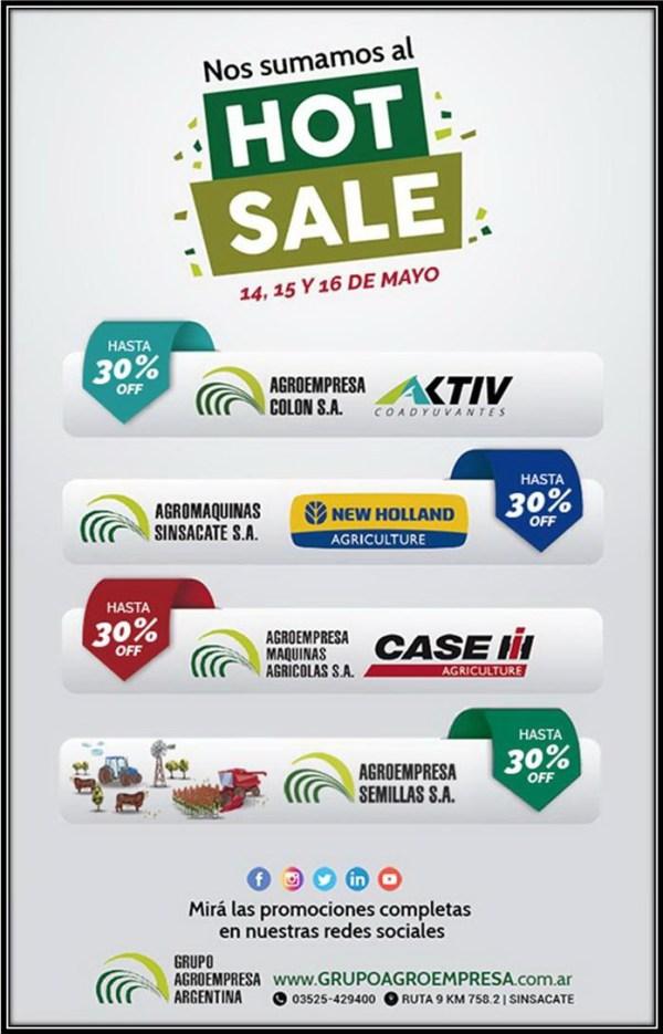Agroempresa-hot sale mayo 2018