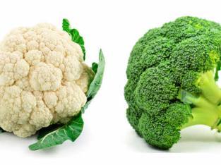 Coliflor y brocoli