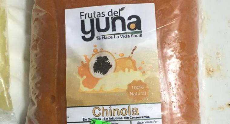 Vendo pulpa de chinolas