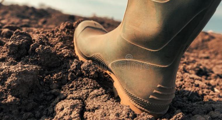 Botas para agricultores