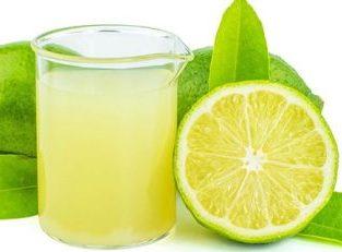 Zumo de limón por galones