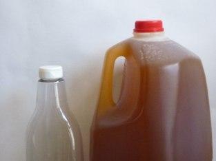Miel pura en galones