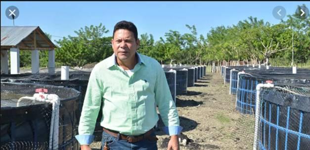 Victorino: el dueño de un proyecto acuícola de 5 millones de alevines