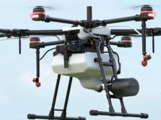 Fumigación con drones
