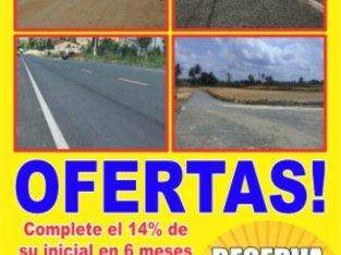 FERIA DE SOLARES RESIDENCIALES CON TITULO EN VILLA MELLA
