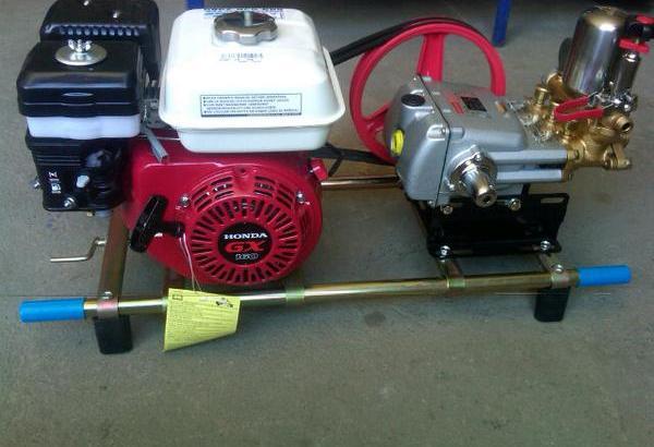 Motor de fumigación estacionario