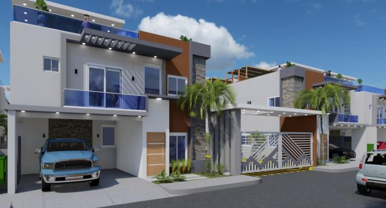 Proyecto de 24 casas en residencial cerrado
