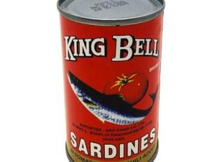 Sardinas King Bell rojas
