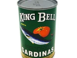 Sardinas King Bell verdes