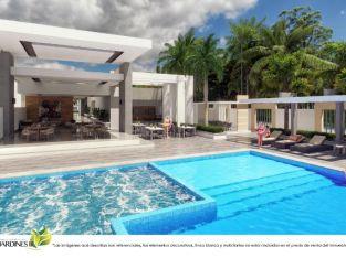 Compras de apartamentos en venta en Jardines 3 en Punta Cana 2da etapa
