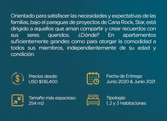 Proyecto de Departamentos de 1 hab en Punta Cana