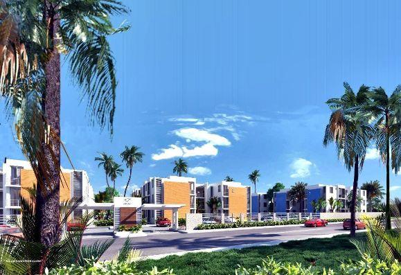 JARDINES DE PUEBLO BAVARO listos para entregar en Punta cana