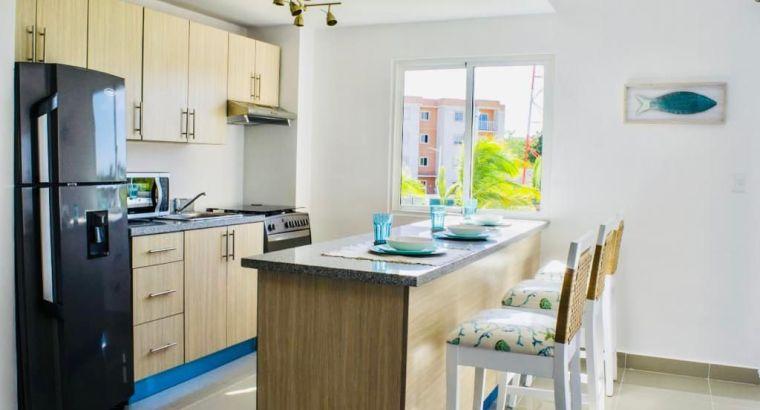 Apartamentos Listos para entregar en Cerca de Pueblo Bávaro