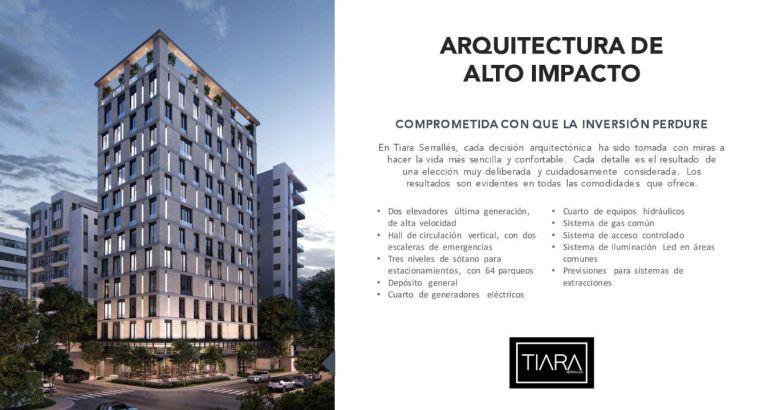 Proyecto de Apartamentos de 1 recámara en Torre Ensanche Piantini