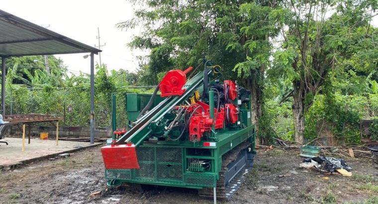 Máquina para estudios de suelo