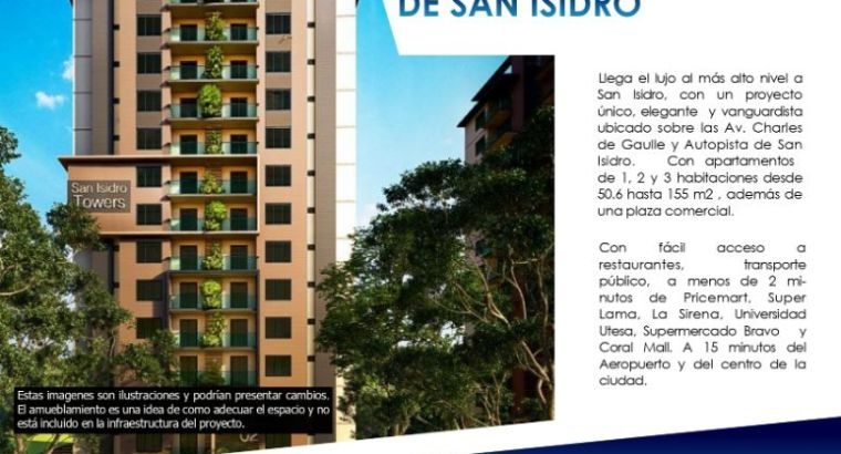 San Isidro Towers Departamentos 3,4 en Santo Domingo