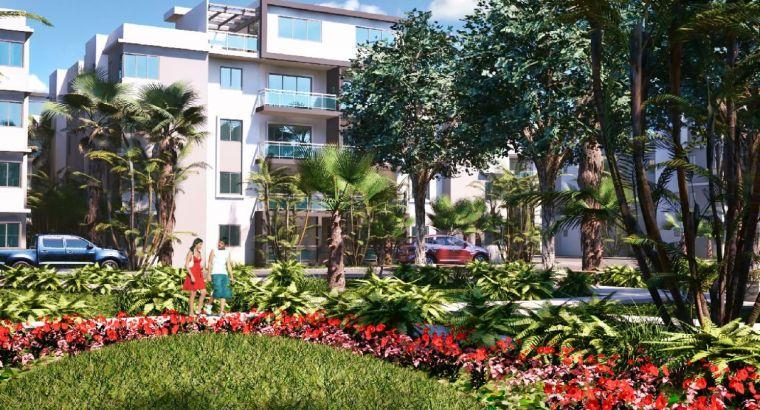 ApartamentoS en Residencial las Cayenas en Santo Domingo Este