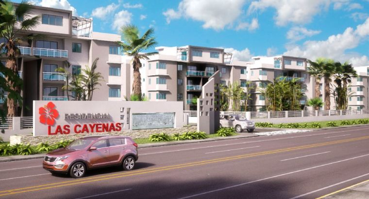 Apartamento en venta en Residencial las Cayenas en San isidro