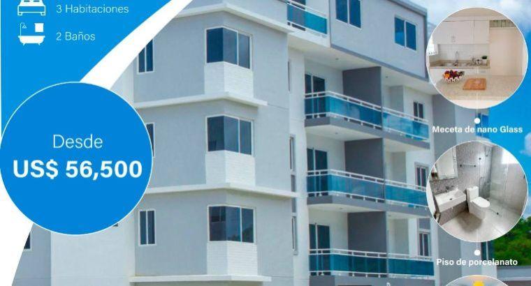 Las Cayenas Apartamento PARA INVERTIR en etapa 1,2,3,4,5,6,7,8,9,10 en Santo Domingo Este