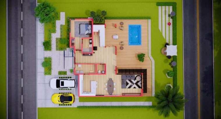 Jarabacoa, La Vega, Venta Hermosa Villa , 2 y 3 Habs