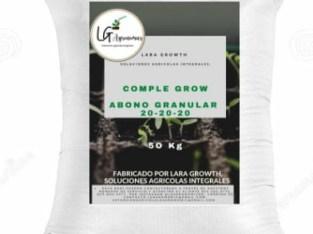 Fertilizante 20-20-20 + micronutrientes