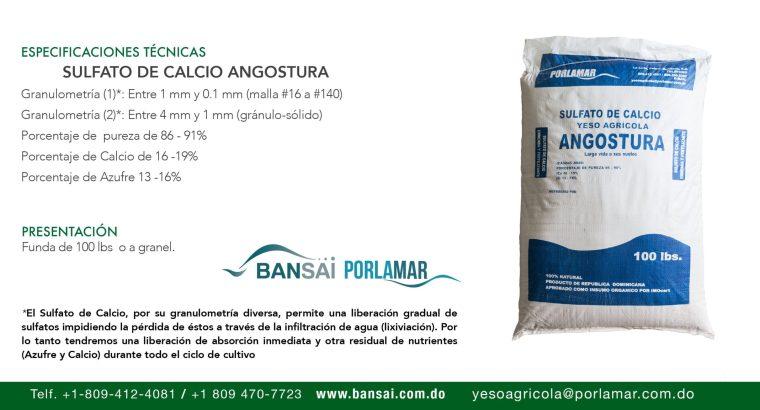 YESO AGRICOLA (SULFATO DE CALCIO)