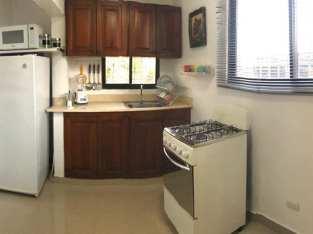 Don Bosco, Gazcue, Alquiler Apto, 1 Habitación, Amoblado, No Parqueo