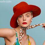 Elle Fanning é capa da 'Marie Claire US'