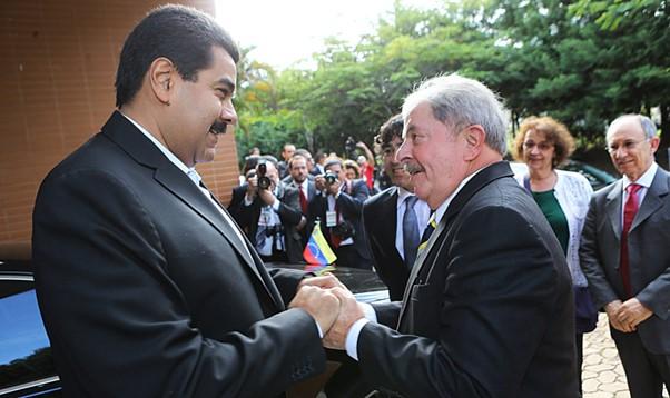 Lula – Nicolás Maduro
