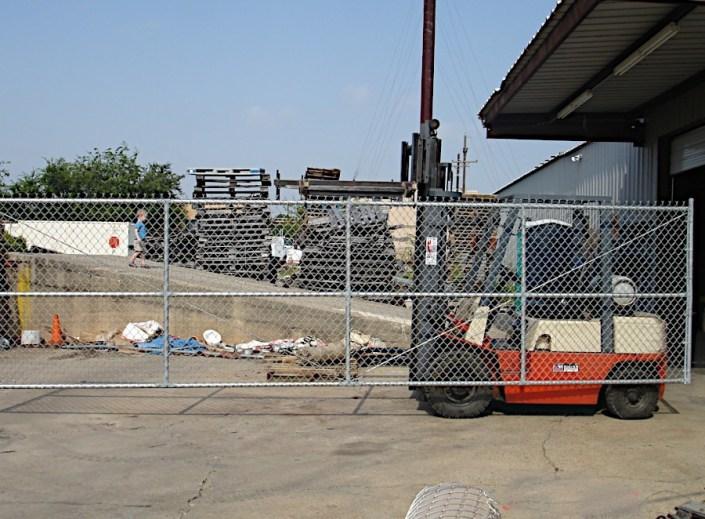 Large Sliding Gate. Work Complete.
