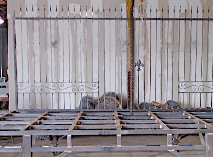 New Orleans Iron Gate Fabrication. Iron Work Design.