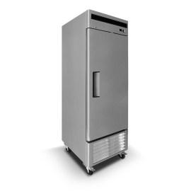 Congelador industrial inox 1 pta acero