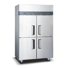 Refrigerador industrial inox 4 ptas acero
