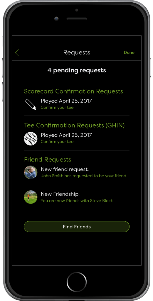 Golf Status Requests